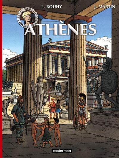 Couverture Les voyages d'Alix - Athènes