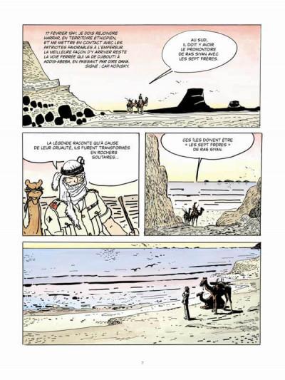 Page 2 Les scorpions du désert tome 5 (édition couleur 2014)