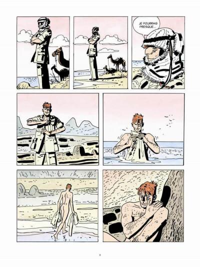 Page 3 Les scorpions du désert tome 5 (édition couleur 2014)
