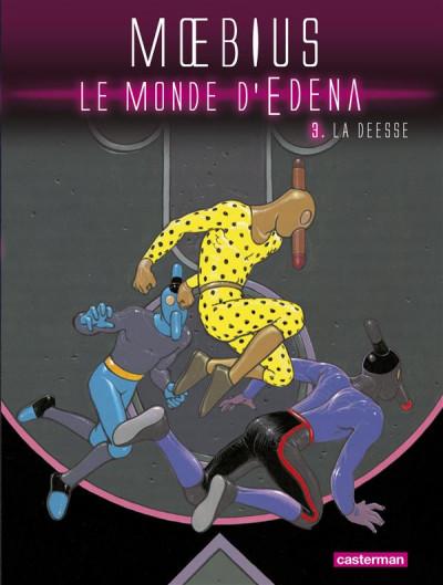 Couverture Le monde d'Edena tome 3 - la déesse (édition 2012)