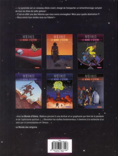 Dos Le monde d'Edena tome 3 - la déesse (édition 2012)