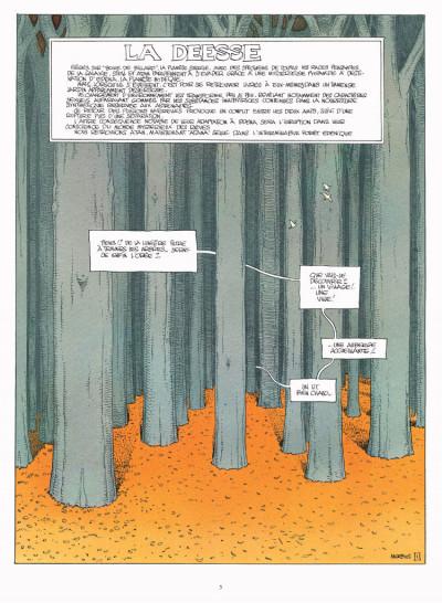 Page 1 Le monde d'Edena tome 3 - la déesse (édition 2012)