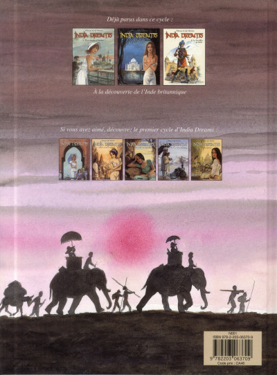 Dos India dreams tome 8 - Le souffle de Kali
