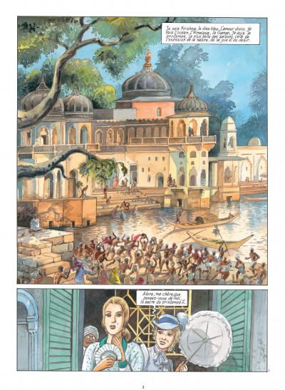 Page 1 India dreams tome 8 - Le souffle de Kali