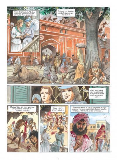 Page 2 India dreams tome 8 - Le souffle de Kali