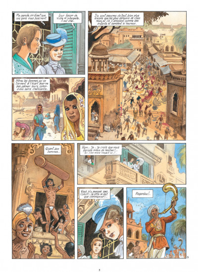 Page 3 India dreams tome 8 - Le souffle de Kali
