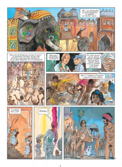 Page 4 India dreams tome 8 - Le souffle de Kali