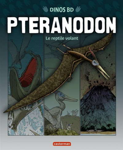 Couverture Dinos bd tome 6 - pteranodon