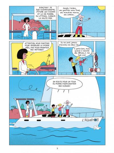 Page 1 Les sciences en BD - Les océans