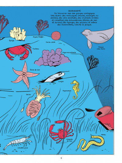Page 3 Les sciences en BD - Les océans