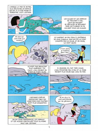Page 5 Les sciences en BD - Les océans