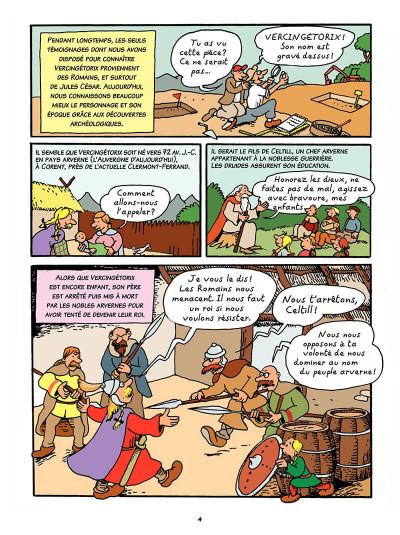 Page 3 L'histoire de France en bd tome 1 - Vercingétorix et les Gaulois