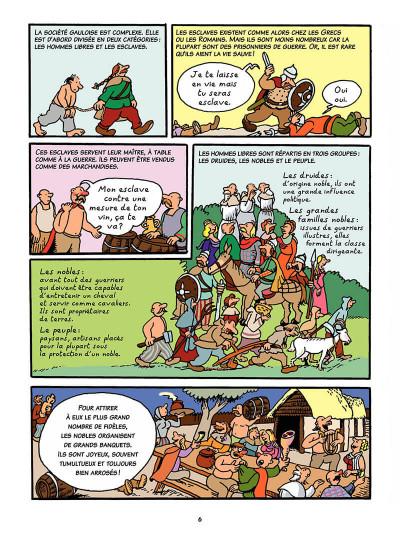 Page 5 L'histoire de France en bd tome 1 - Vercingétorix et les Gaulois