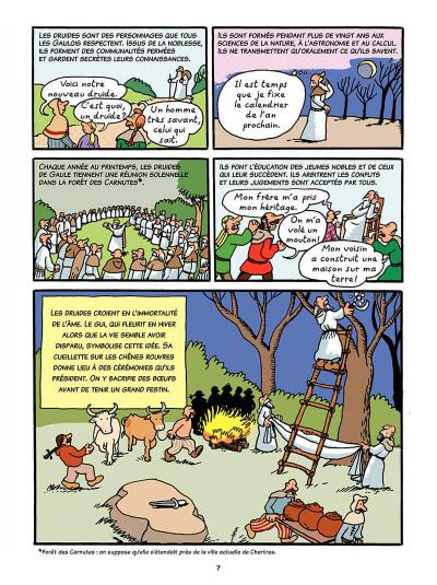 Page 6 L'histoire de France en bd tome 1 - Vercingétorix et les Gaulois