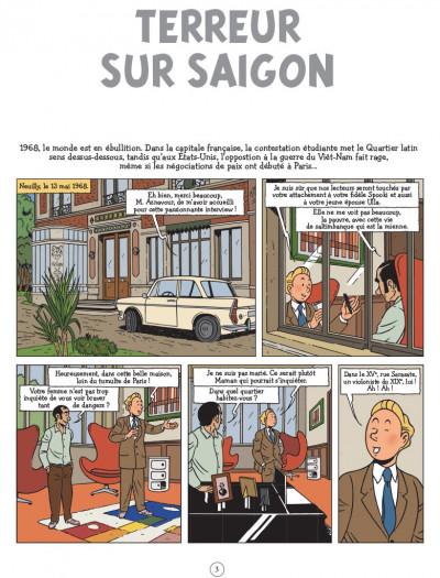 Page 1 Les aventures de Scott Leblanc tome 3