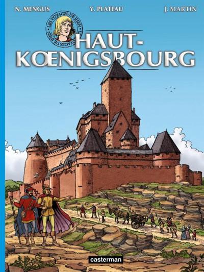 Couverture Les voyages de Jhen - Haut-Koenigsbourg
