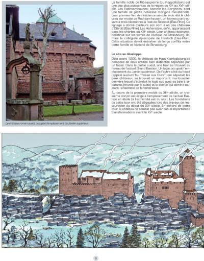 Page 1 Les voyages de Jhen - Haut-Koenigsbourg