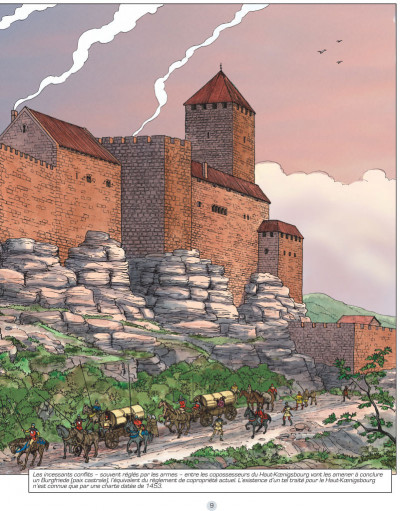 Page 4 Les voyages de Jhen - Haut-Koenigsbourg