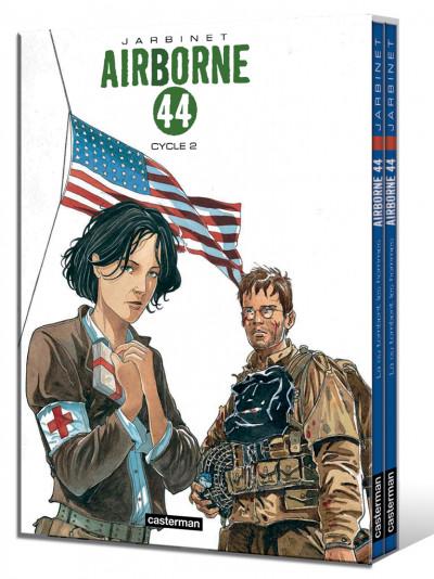 Couverture Airborne 44 - coffret tome 3 et tome 4