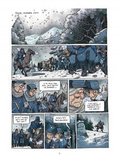 Page 1 Les poilus d'Alaska tome 1