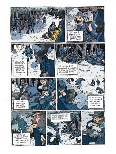 Page 2 Les poilus d'Alaska tome 1