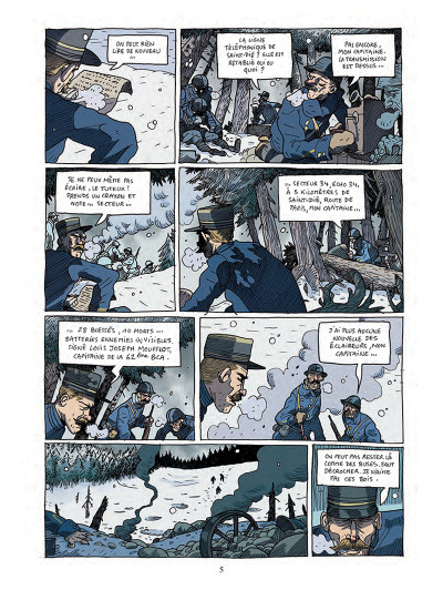 Page 3 Les poilus d'Alaska tome 1