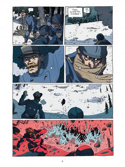 Page 4 Les poilus d'Alaska tome 1