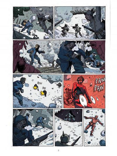 Page 5 Les poilus d'Alaska tome 1