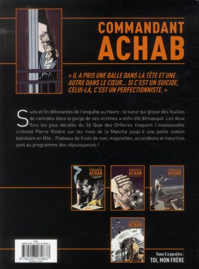 Dos Commandant Achab tome 4