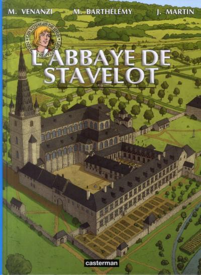 Couverture Les voyages de jhen - l'abbaye de stavelot