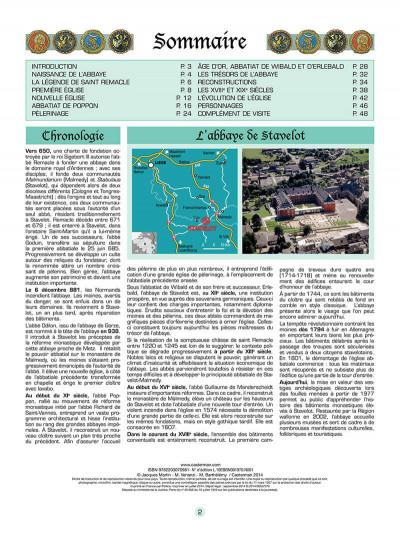 Page 3 Les voyages de jhen - l'abbaye de stavelot