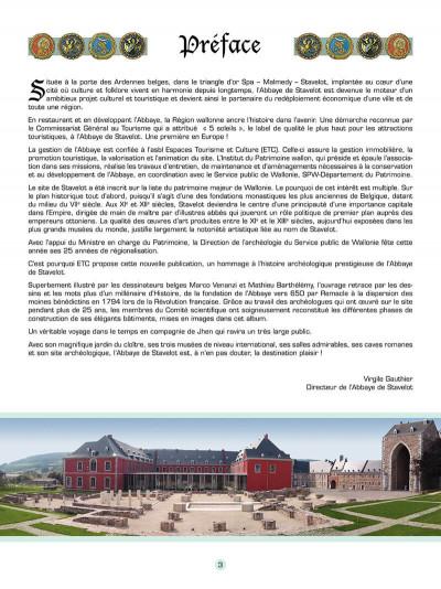 Page 4 Les voyages de jhen - l'abbaye de stavelot