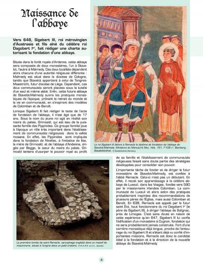 Page 5 Les voyages de jhen - l'abbaye de stavelot