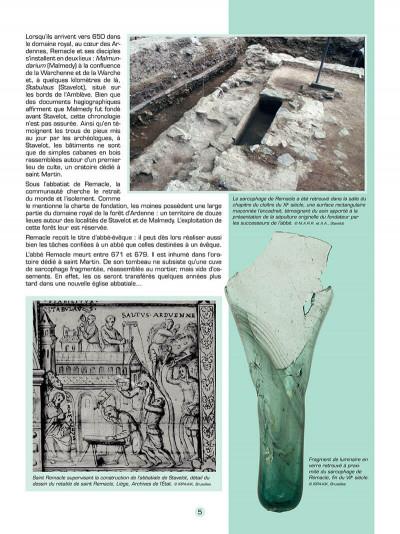 Page 6 Les voyages de jhen - l'abbaye de stavelot