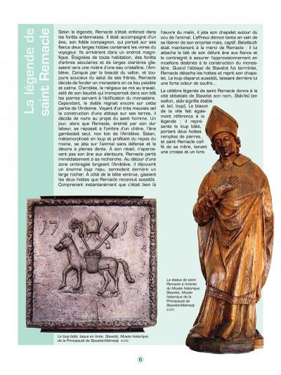 Page 7 Les voyages de jhen - l'abbaye de stavelot
