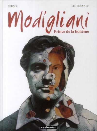 Couverture Modigliani - prince de la bohème