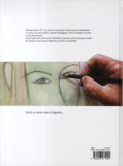 Dos Modigliani - prince de la bohème
