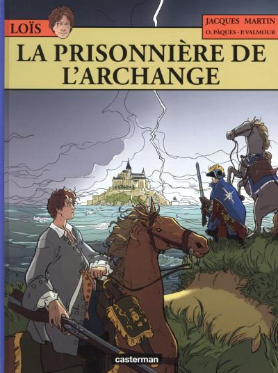 Couverture Les aventures de Loïs tome 7 - La prisonnière de l'archange