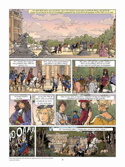 Page 1 Les aventures de Loïs tome 7 - La prisonnière de l'archange