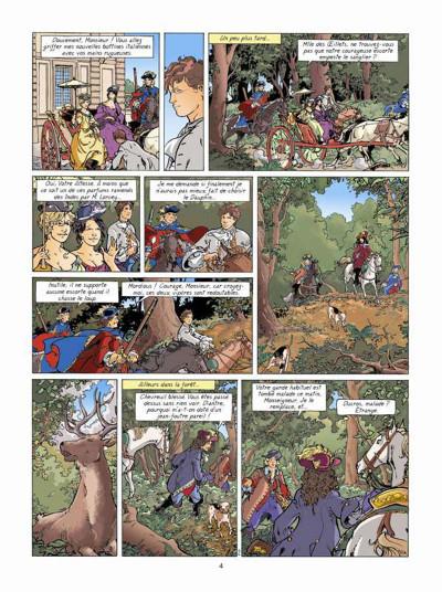 Page 2 Les aventures de Loïs tome 7 - La prisonnière de l'archange