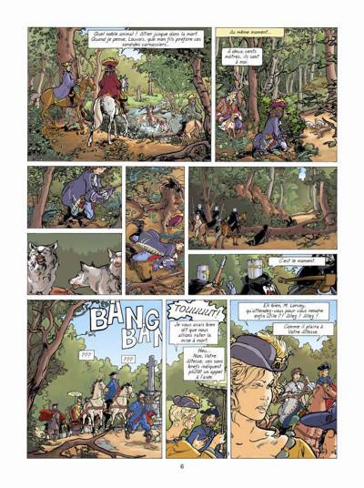 Page 4 Les aventures de Loïs tome 7 - La prisonnière de l'archange