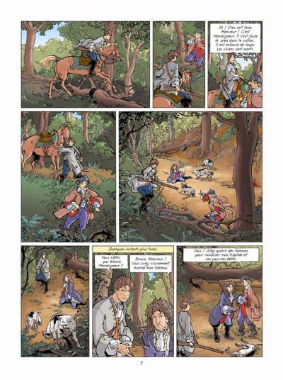 Page 5 Les aventures de Loïs tome 7 - La prisonnière de l'archange