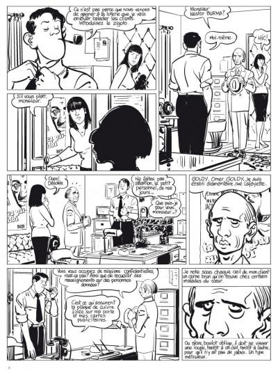 Page 1 l'étrangleur - Nestor burma - boulevard... ossements - Journal tome 1/3