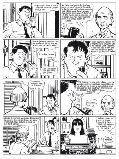 Page 3 l'étrangleur - Nestor burma - boulevard... ossements - Journal tome 1/3