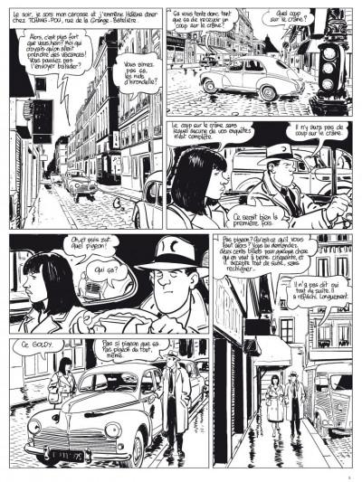 Page 4 l'étrangleur - Nestor burma - boulevard... ossements - Journal tome 1/3