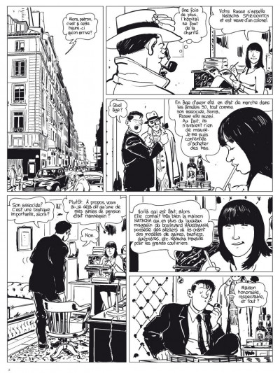 Page 1 l'étrangleur - Nestor burma - boulevard... ossements - Journal tome 2/3