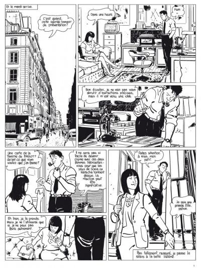 Page 4 l'étrangleur - Nestor burma - boulevard... ossements - Journal tome 2/3