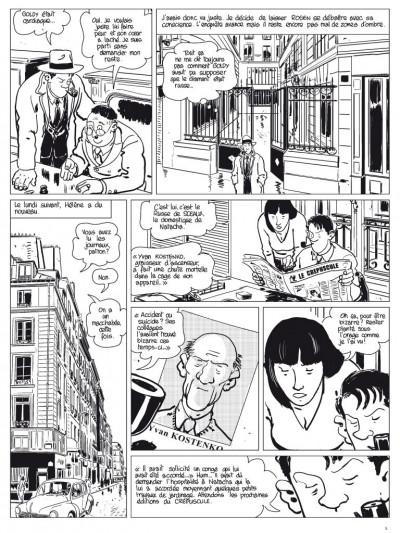 Page 4 l'étrangleur - Nestor burma - boulevard... ossements - Journal tome 3/3