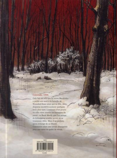 Dos Rouge comme la neige