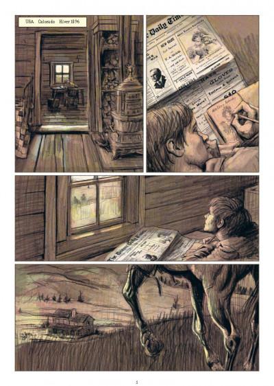 Page 1 Rouge comme la neige